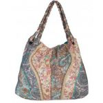 Scully Paisley & Floral Fabric Tote