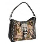 Montana West Camo Print Shoulder Bag