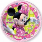 Set 8 farfurii 20 cm carton Minnie Bow-tique
