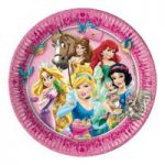Set 8 farfurii party Princess and Animals 23 cm