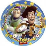 Set 8 farfurii 23 cm Toy Story Star Power
