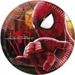 Set 8 farfurii party Spiderman Amazing 2 - 20 cm