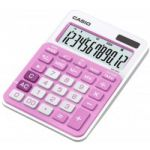 Calculator de birou Casio MS20NC-PK, 12 digit, roz