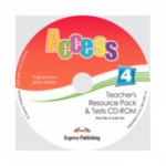 Access 4 CD. Teachers Resource Pack CD-ROM cu Teste