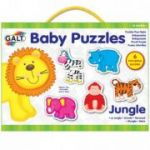 Baby Puzzle Animale din jungla (2 piese)