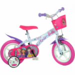 Bicicleta copii 12' - Barbie Dreams