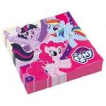 Set 20 servetele party My Little Pony 33 x 33 cm