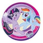 Set 8 farfurii party My Little Pony 18 cm