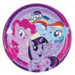Set 8 farfurii party My Little Pony 23 cm