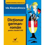 DICTIONAR GERMAN-ROMAN. CLASELE II-XII