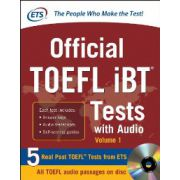 Official TOEFL iBT Tests with Audio, Volume 1