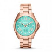Fossil - Cecile Multifunction Stainless Steel Watch – Rose