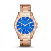 Riley Multifunction Stainless Steel Watch – Rose Gold-Tone