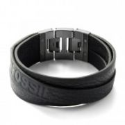 Fossil - Black Double Bracelet