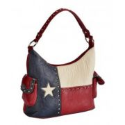 Blazin Roxx Texas Flag Bucket Handbag