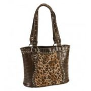 Blazin Roxx Croc Print Leopard Inlay Shoulder Handbag Previous Product