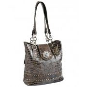 Blazin Roxx Blue Concho Shoulder Bag