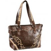 Blazin Roxx Scroll Underlay Large Tote Bag Previous Product