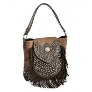 Montana West Trinity Ranch Bling & Fringe Tote