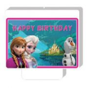 Lumanare party Happy Birthday Frozen