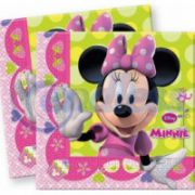 Set 20 servetele Minnie Bow-tique