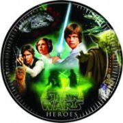 Set 8 farfurii party 23 cm Star Wars and Heroes
