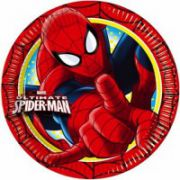 Set 8 farfurii party 23 cm Ultimate Spiderman
