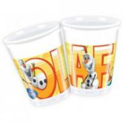 Set 8 pahare party Olaf Summer