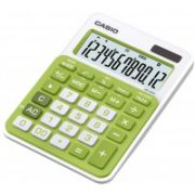 Calculator de birou Casio MS20NC-GN, 12 digit, verde