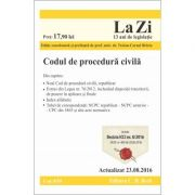 Codul de procedura civila. Cod 616