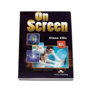 On Screen B2+ Class CD (4 CDs). Clasa a X-a