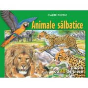 Animale Salbatice - Carte Puzzle