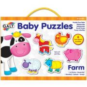 Baby Puzzle - Ferma (2 piese)
