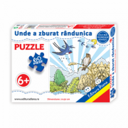 Unde a zburat randunica - Puzzle 60 piese