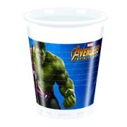 Set 8 pahare party Avengers Infinity War