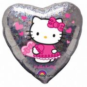Balon folie 45 cm Hello Kitty Hearts