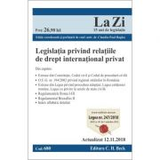 Legislatia privind relatiile de drept international privat. Cod 680