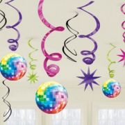 Set 12 spirale party DISCO FEVER