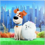 Set 20 servetele party Secret Life of Pets
