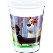 Set 8 pahare party Secret Life of Pets