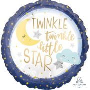 Balon folie 45 cm Twinkle Little Stars