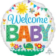 Balon folie 45 cm Welcome Baby Spring