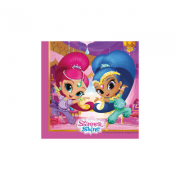 Set 20 servetele party Shimmer and Shine