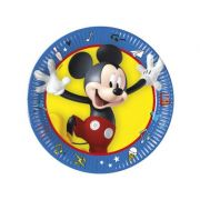 Set 8 farfurii party 20 cm MICKEY Pals at Play