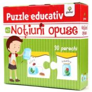 Notiuni opuse, puzzle educativ