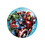 Set 8 farfurii party 23 cm Mighty Avengers