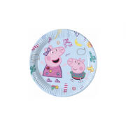 Set 8 farfurii party 23 cm Peppa Pig