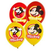 Set 6 baloane party Mickey Mouse 28 cm