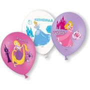 Set 6 baloane party Printese Disney 28 cm