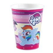 Set 8 pahare party My Little Pony, carton 250 ml